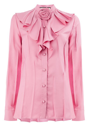 Gucci rose knot blouse - Pink & Purple