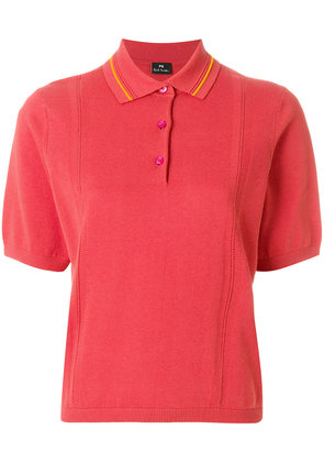 Ps By Paul Smith short sleeve polo shirt - Yellow & Orange