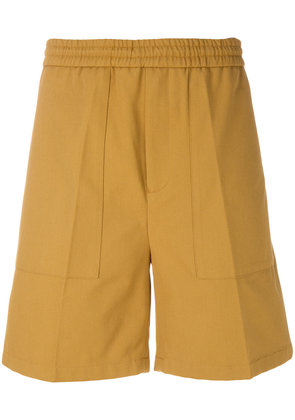 Golden Goose Deluxe Brand pleated detail bermuda shorts - Brown