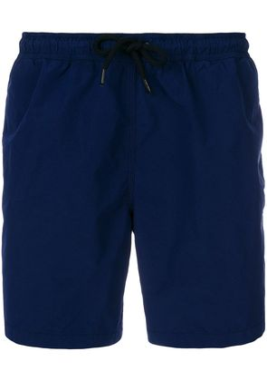 Aspesi plain swim shorts - Blue