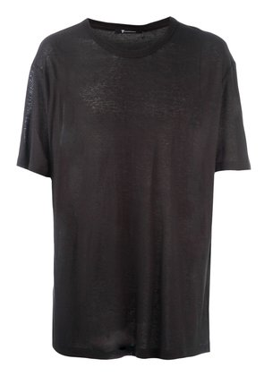T By Alexander Wang pilling t-shirt - Black