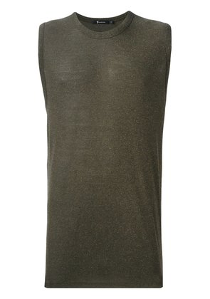 T By Alexander Wang sleeveless T-shirt - Green