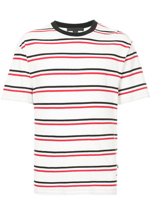 Alexander Wang striped T-shirt - White