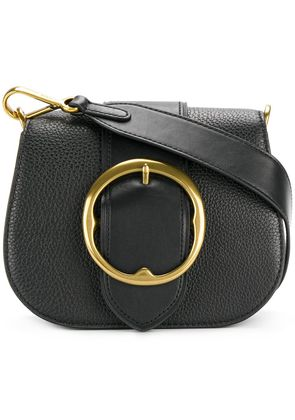 Polo Ralph Lauren buckle saddle bag - Black
