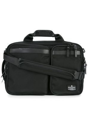 Makavelic Chase 3 way briefcase - Black