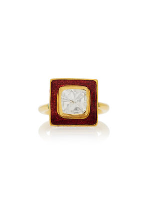 Alice Cicolini One-Of-A-Kind Summer Snow Diamond Ring