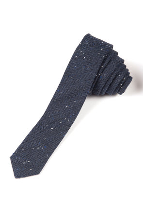 Kids' Woven Speckled Skinny Tie