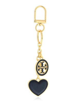 LOGO & HEART KEY CHAIN