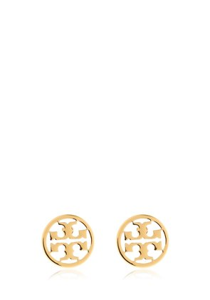 LOGO CIRCLE STUD EARRINGS
