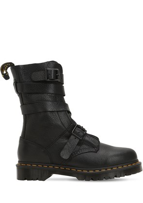 BEVAN TRAFFIC LEATHER BOOTS