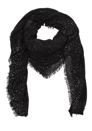 DOMENICA SEQUINED WOOL BLEND SCARF