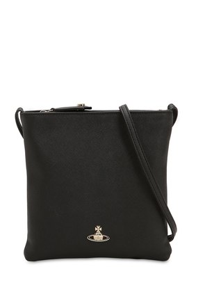 VICTORIA SQUARE FAUX LEATHER BAG