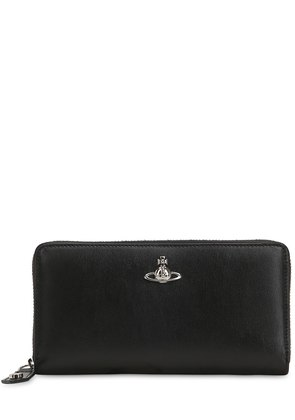 MATILDA LEATHER ZIP AROUND WALLET