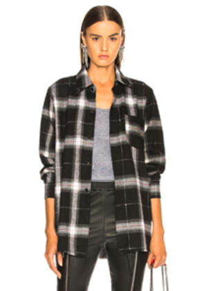 BEAU SOUCI Boy Shirt in Black,Checkered & Plaid