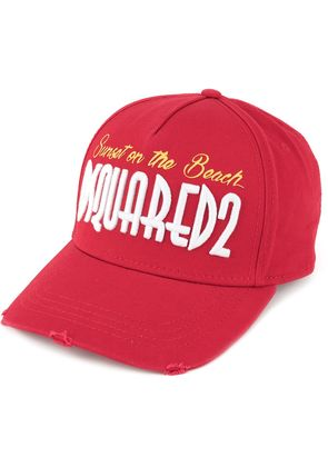 Dsquared2 Sunset on the Beach embroidered cap