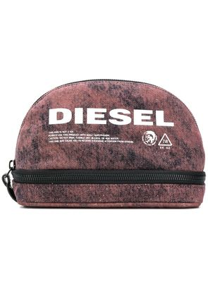 Diesel printed purse - Red