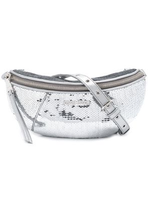 Miu Miu Paillettes belt bag - Metallic