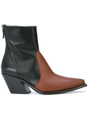 Givenchy two-tone ankle boots - Black