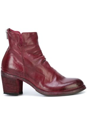 Officine Creative Agnes ankle boots - Red