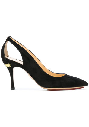 Charlotte Olympia cut out pumps - Black