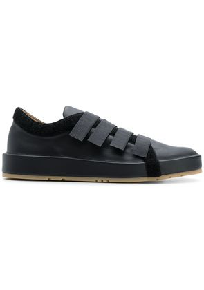 Jil Sander touch strap low top sneakers - Black