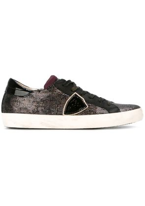 Philippe Model sequin sneakers - Black