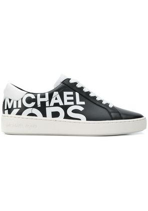 Michael Michael Kors logo print low top sneakers - Black