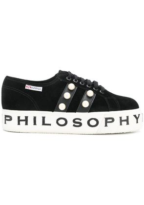 Philosophy Di Lorenzo Serafini Superga X Philosophy sneakers - Black