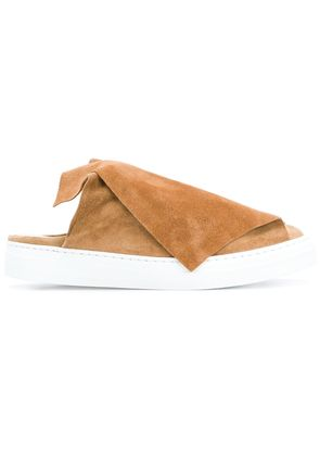 Ports 1961 foldover slip-on sneakers - Brown