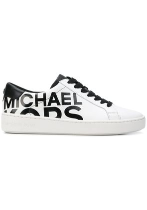 Michael Michael Kors logo print low top sneakers - White