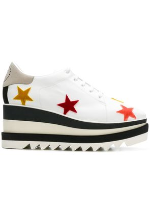 Stella McCartney star platform brogues - White