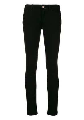 Dolce & Gabbana Queen patch skinny jeans - Black
