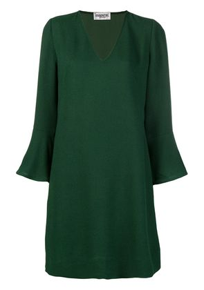 Essentiel Antwerp long-sleeve fitted dress - Green
