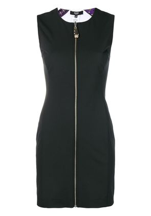 Versus full-zipped dress - Black