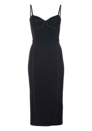 T By Alexander Wang reverse seam dress - Black