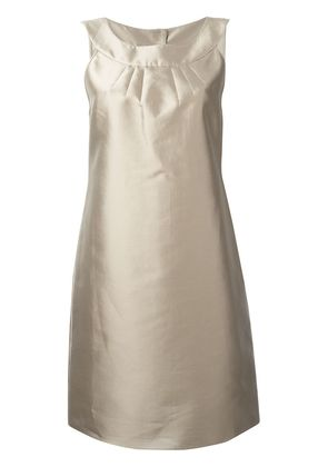 Armani Collezioni shift dress - Nude & Neutrals