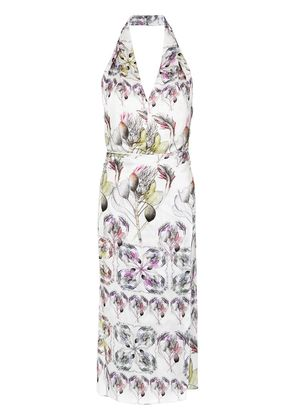 Tufi Duek printed halterneck dress - Unavailable