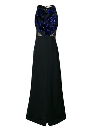 Emilio Pucci sequin-embellished gown - Black