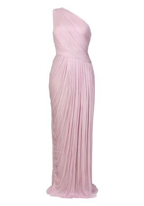 Maria Lucia Hohan gathered Rosalle gown - Pink & Purple