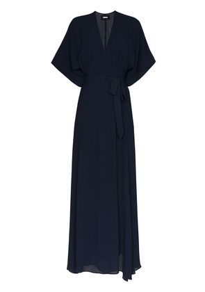 Reformation winslow maxi dress - Blue