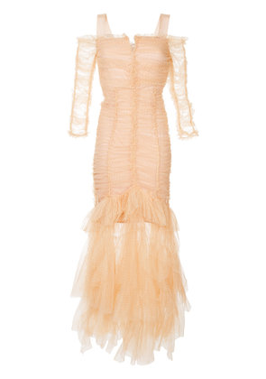 Alice Mccall Unforgettable gown - Nude & Neutrals
