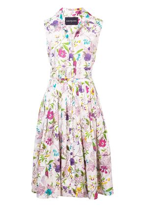 Samantha Sung floral printed summer dress - Multicolour