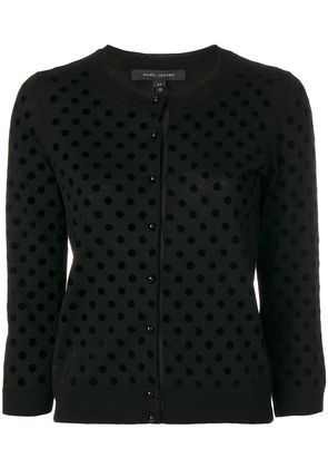 Marc Jacobs polka dot cardigan - Black
