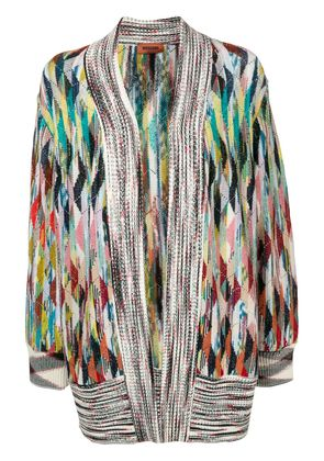 Missoni open-front knit cardigan - White