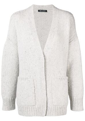 Iris Von Arnim V-neck cardigan - Grey