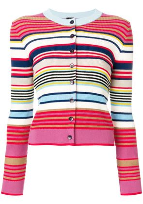 Ps By Paul Smith multi-stripe cardigan - Multicolour