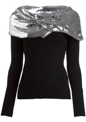 Monse knitted top - Metallic