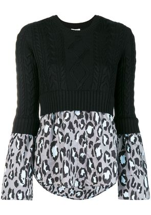 Kenzo knitted top - Black