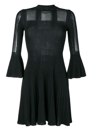 Versace short-sleeve knitted dress - Black