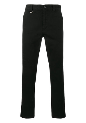 Sophnet. damaged chino trousers - Black